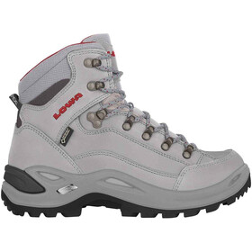 Lowa Renegade GTX Mid-Cut Schuhe Damen grey/red